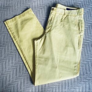 Vineyard Vines yellow Breaker slacks